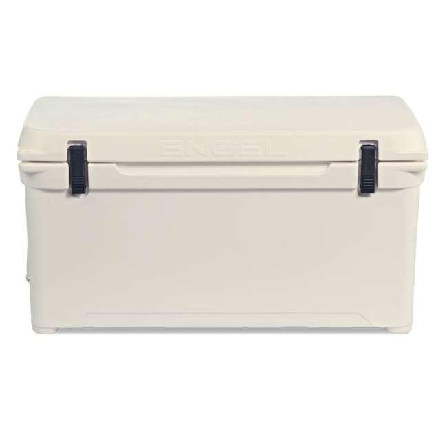 ENG80-CW-U-A Engel Coolers 74 Quart 75 Can Roto Molded Cooler, Coastal White (Open Box)