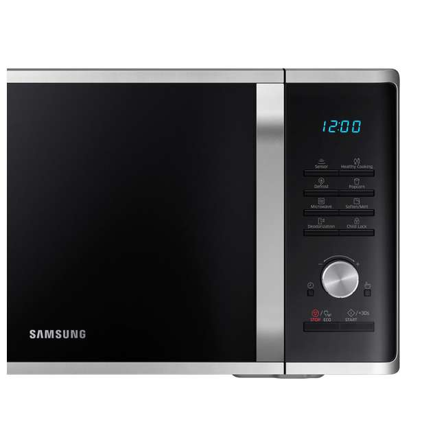 MS11K3000AS-RB Samsung 1.1 Cubic Foot Countertop Microwave Oven, Black (Certified Refurbished) 2