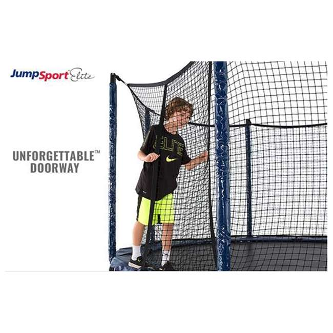 UNE-U-11732-02 JumpSport Elite 12 Foot StagedBounce Technology Trampoline System with Enclosure 4