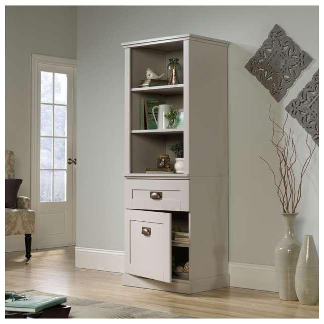 SF-419281-U-A Sauder Home Furniture Grange Tall Storage Farmhouse Shaker Cabinet (Open Box) 1