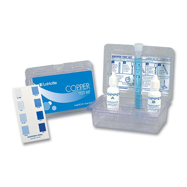 Lamotte Ec 70 Pool And Spa Copper Test Kit Lm 3619