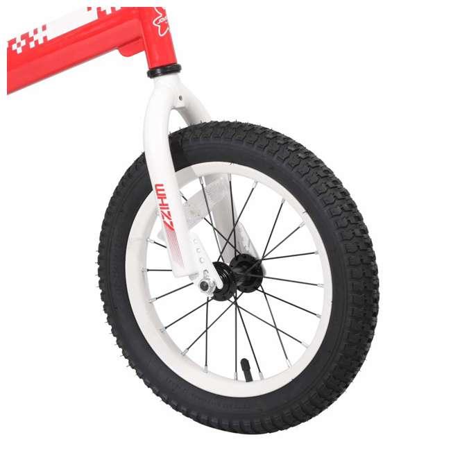 BIKE029rd-16 JOYSTAR Whizz Series 16-Inch Ride On Kids Bike with Training Wheels, Red & White 2