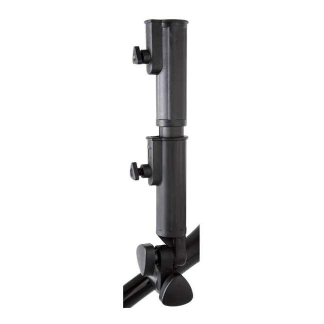 US-ZIPX5B MGI Zip X5 Electric Golf Push Cart Swivel Wheel Caddie with Accessories, Black 7