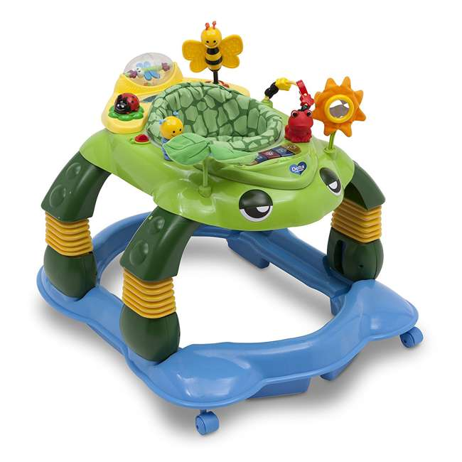 22474-365-U-A Delta Children Lil Play Station Turtle 3-in-1 Activity Walker (Open Box)
