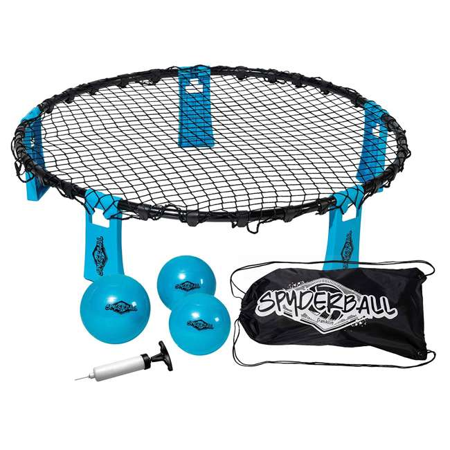 52565 Franklin Sports 52565 Spyderball Outdoor Game With Net, Balls, Carry Bag