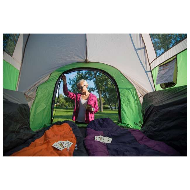13100 + PPI PV202C Napier BackRoadz 13100 SUV and Minivan Tent w/ GreenAirBedz Inflatable Pickup Truck Air Mattress 3
