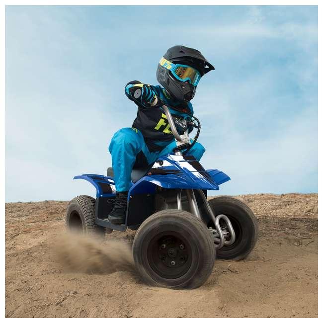 25143042 Razor Kids Electric Off Road Dirt Quad 4-Wheeler ATV, Blue 2