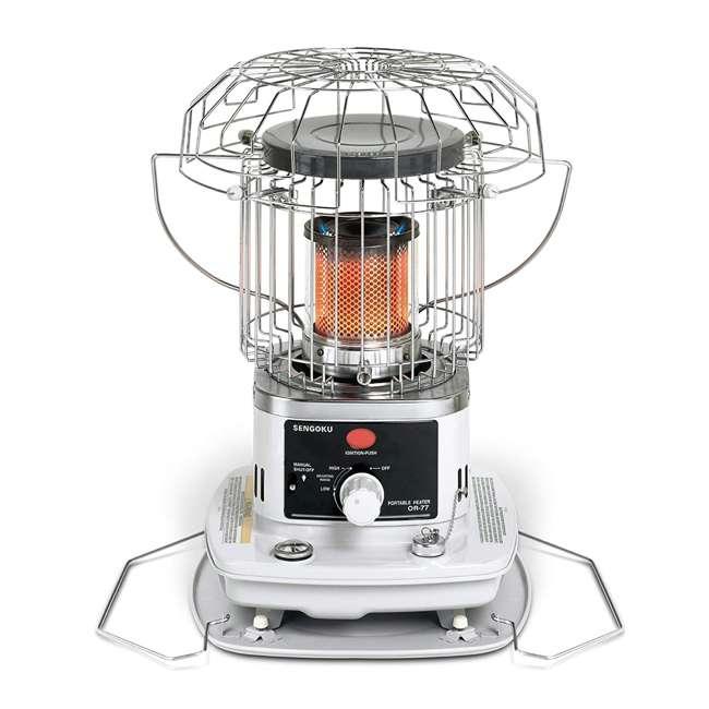 OR-77 Sengoku HeatMate OR77 Portable Indoor/Outdoor Omni Radiant Kerosene Space Heater