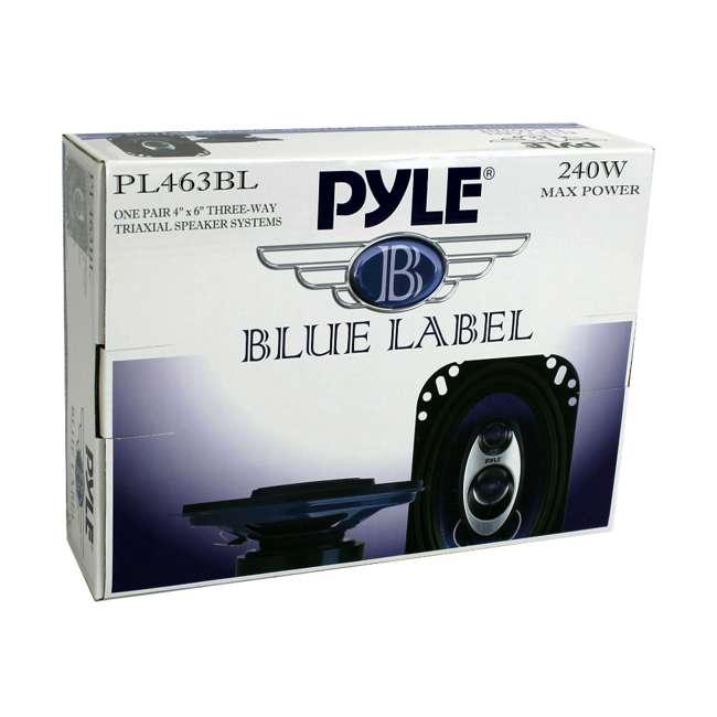 12 x PL463BL Pyle PL463BL 4x6-Inch 240W 3-Way Speakers (24 Speakers) 7