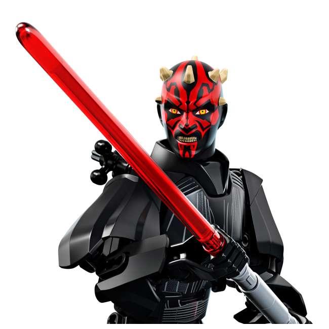 6213574-U-A LEGO Star Wars Darth Maul 9 In. Buildable Figure 104 Piece Set (Open Box) 2