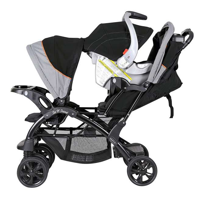 Baby Trend Double Sit N Stand Stroller Millennium Orange