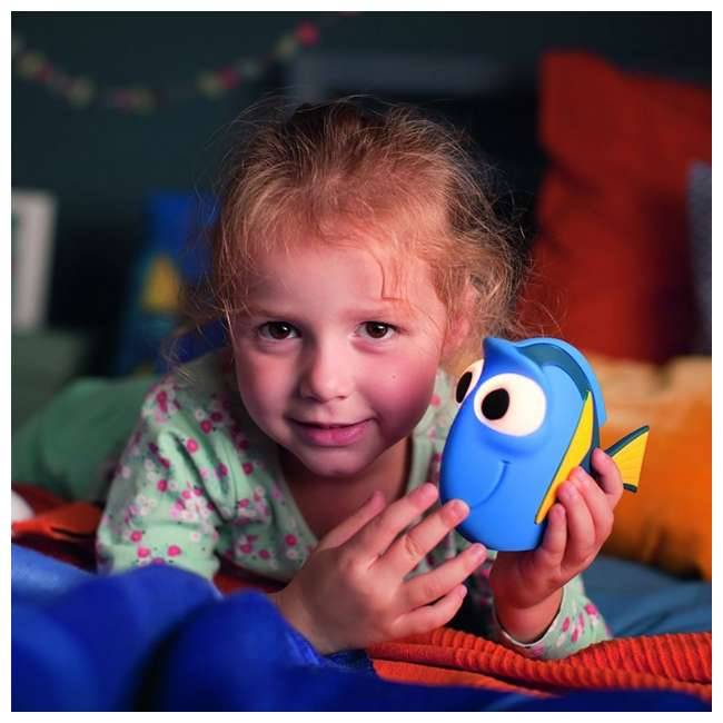 PLC-7176736U0 + PLC-7176890U0 Philips Kids Disney Pixar Finding Dory Flashlight and Soft Pal Nightlight Friend 7