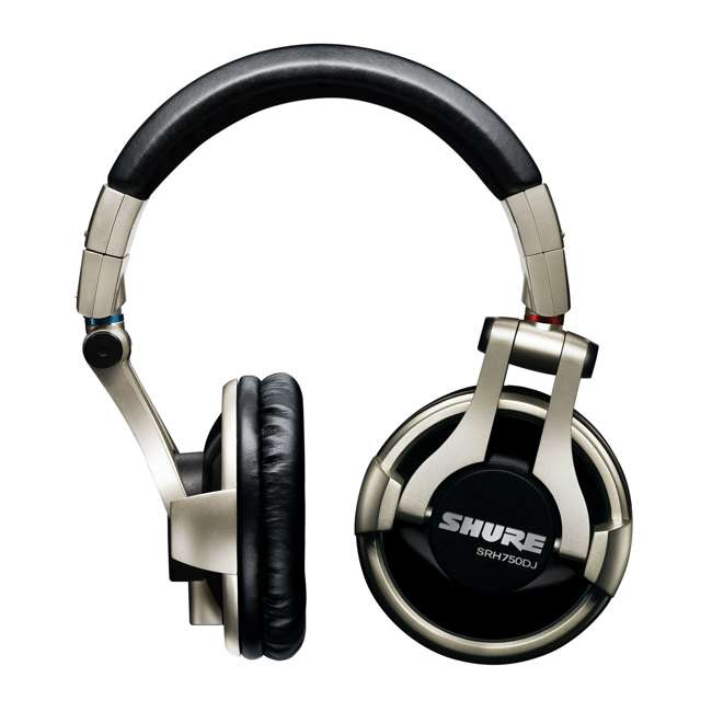 SRH750DJ Shure Professional Studio Recording Headphones (2 Pack) 1