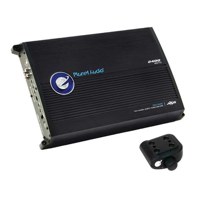 PX22400 + VM-SRSK4B Planet Audio PX2.2400 2400W 2-Channel Amplifier PX22400 with 4 Gauge Amp Kit 1