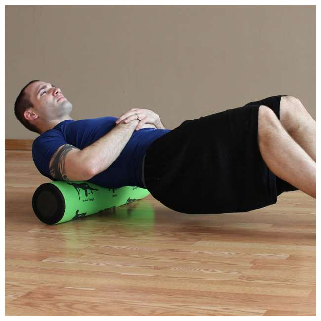 400-150-020 Prism Fitness 2 Foot Long Smart Recovery Self-Guided Muscle Recovery Roller 1