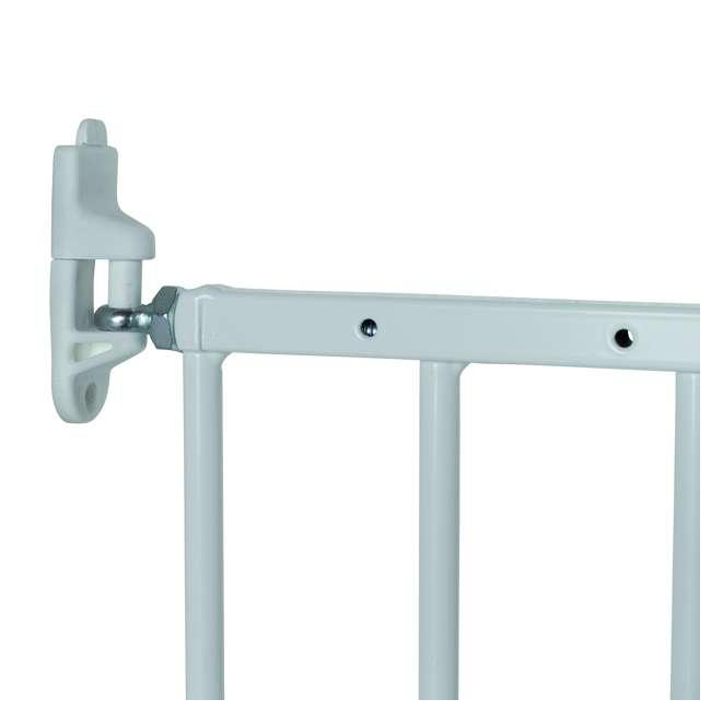 BBD-57314-5400 BabyDan MultiDan Wall Mount 24.6-42 Inch Doorway Safety Baby Gate, White Metal 4