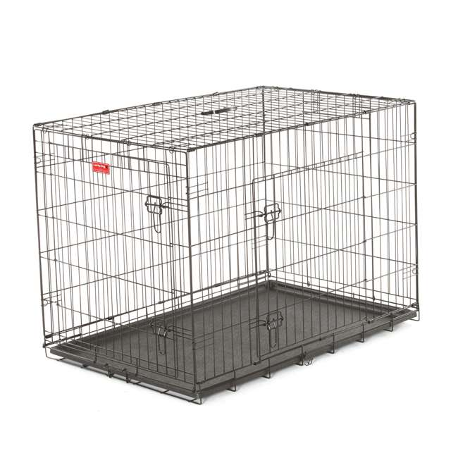 ZW 11542-U-A Lucky Dog 2 Door Dog Kennel w/ Leak Proof Removable Pan, Extra Large (Open Box)
