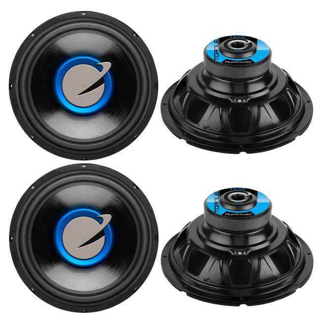 "4 x TQ12S 4) New Planet Audio TQ12S 12"" 6000 Watt Car Subwoofers Power Subs Woofers Stereo"