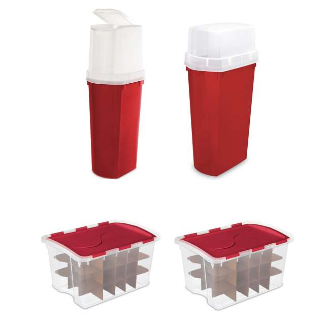 Sterilite 40 and 30 Wrapping Paper Storage Containers 2 45