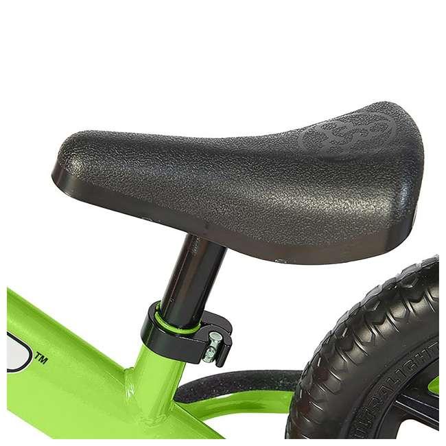 ST-M4GN + PSKISET-12-BK Strider 12 Classic Balance Kids 18 - 36 Months Bike, Green + Strider Snow Ski Set  4