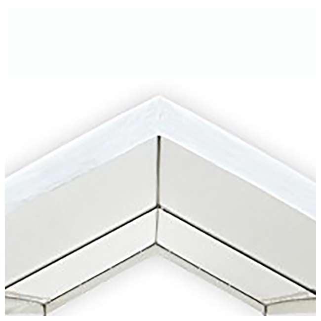 CVAN22006200010 Caravan Canopy Domain 10 x 20 Foot Straight Leg Instant Canopy, White 4