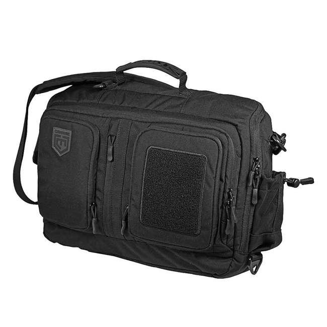 CPG-DB-CTD-M-B Cannae Pro Gear 500D Nylon 60-Liter Transport Duffle Bag, Black 6