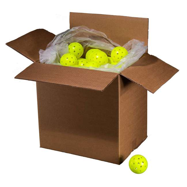 52843x Franklin Sports X-40 Pickleballs 100 Piece Outdoor Gaming Pack, Yellow 2