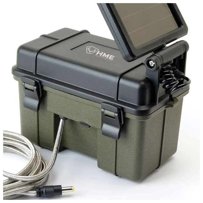 STC-GX45NGW + SD4-16GB-SAN + HME-12VBBSLR + STC-BB Stealth Cam GXW Game Camera & Memory Card & Battery & Bear-Proof Box 10