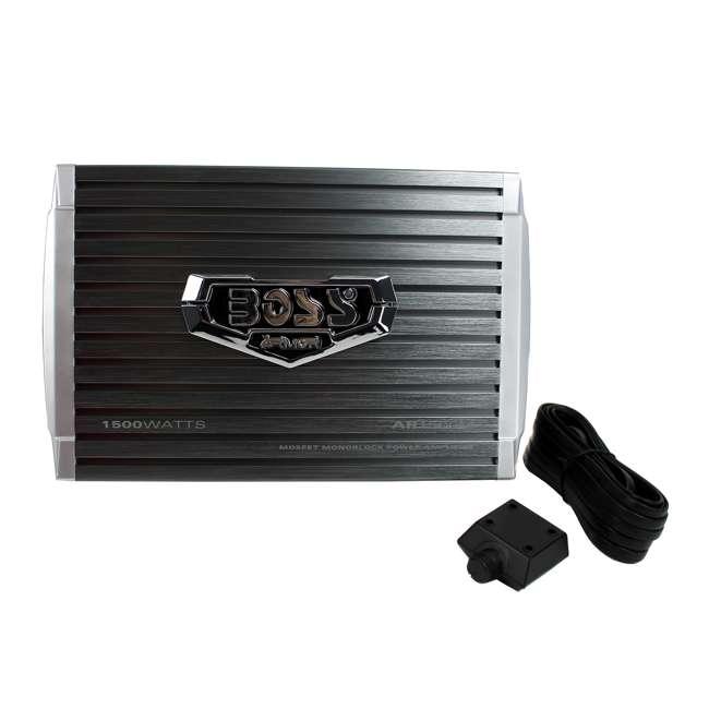 AR1500M Boss Audio AR1500M 1500-Watt Mono Amplifier 3