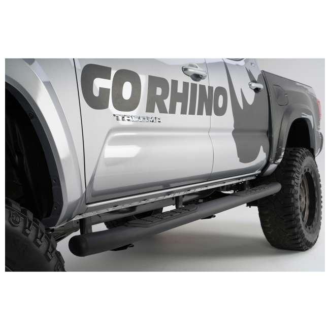 67427T Go Rhino 67427T 415 Series Cab Length Toyota Trail, TRD, & SR5 Side Step, Pair 8