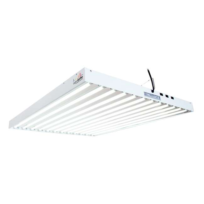 FLT412 Agrobrite T5 648W 4-Foot Grow Light Fixture with Lamps (2 Pack) 1