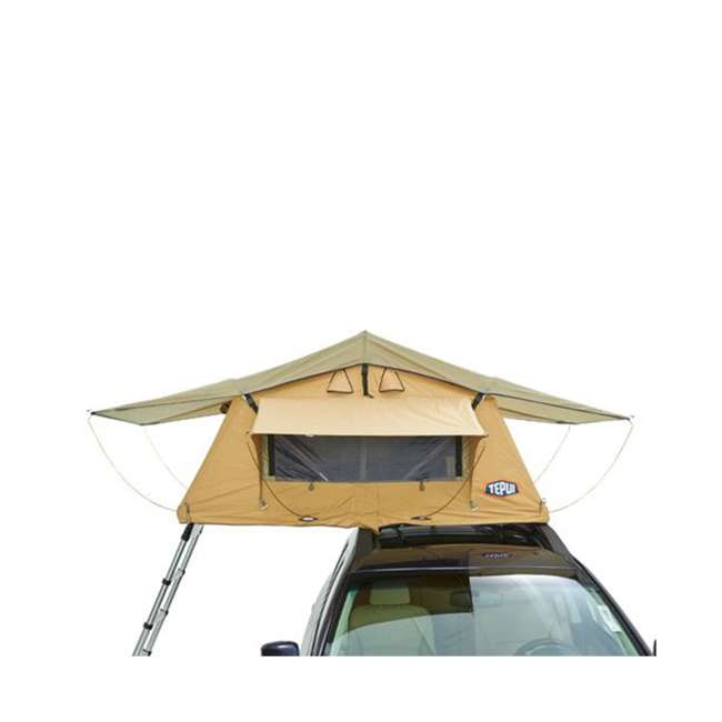 01AYR011606 + MTX02SO Tepui Tents Ayer Explorer 2 Person Car Roof Top Tent & MAXTRAX Recovery Device 3
