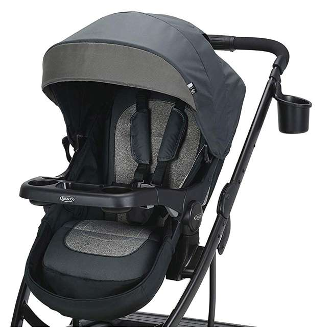 2065103 Graco UNO2DUO Single Folding Reclining Convertible Baby Travel Stroller, Bryant 3