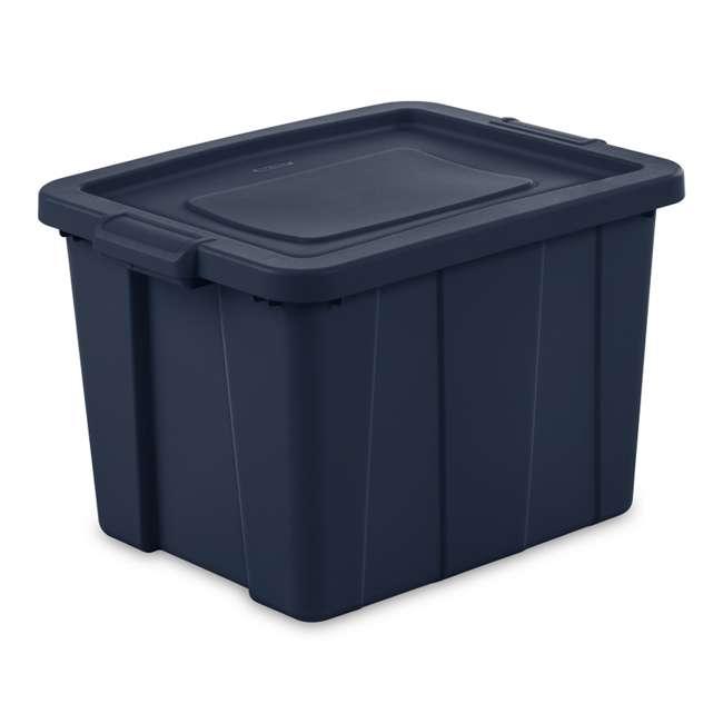 16788N06 Sterilite Tuff1 18 Gallon Plastic Storage Tote Container Bin w/ Lid