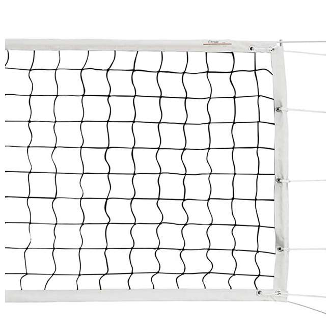 VN700 Champion Sports Official Olympic Sized 32 x 3.13 Inch Volleyball Net, White