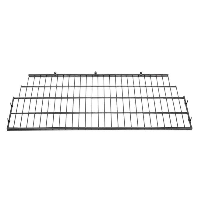 4 x BMSA7S Suncast Vertical Storage Shed Metal Wire Rack (4 Pack) 1