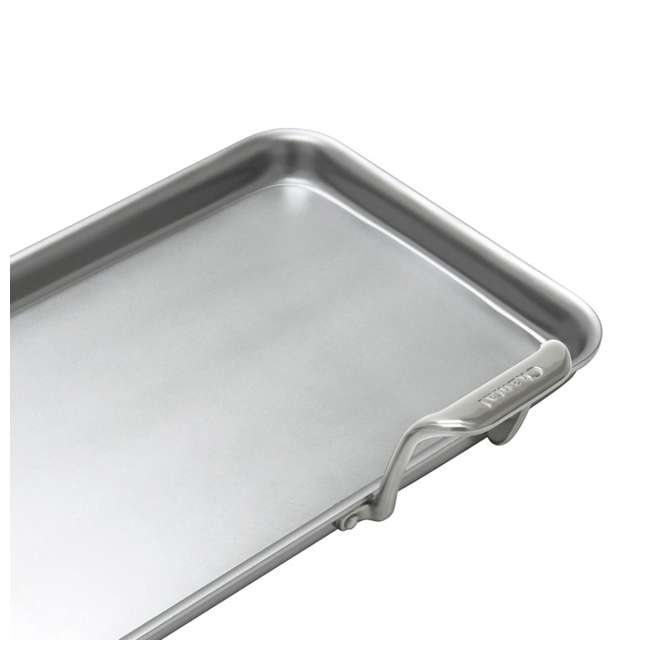 SLT60-48-U-A Chantal 19 x 9.5 In Stainless Steel Heavy Gauge Tri Ply Griddle Pan (Open Box) 4