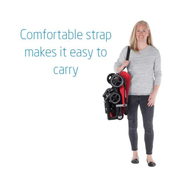 CV364ETZ Maxi-Cosi Lara Ultra Compact Foldable Lightweight Canopy Stroller, Nomad Red 1