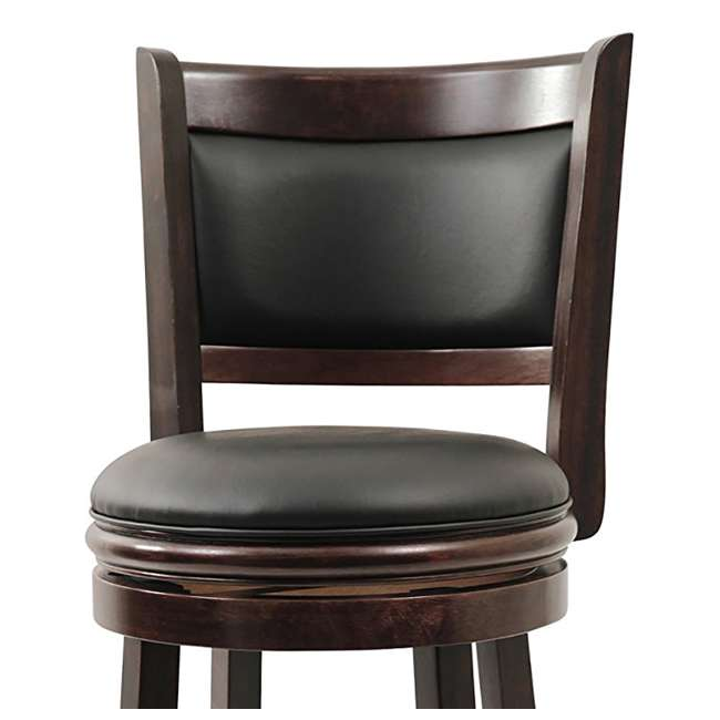 Pleasant Boraam 29 Inch Augusta Swivel Bar Stool Cappuccino 48829 Gmtry Best Dining Table And Chair Ideas Images Gmtryco