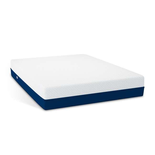 AS3-F Amerisleep AS3 Medium Softness Bio Core Plush Foam Full Size Mattress, White 1