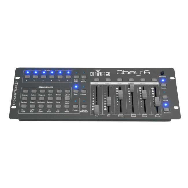 6 x OBEY6 Chauvet OBEY 6 Universal DMX Controller (6 Pack) 1