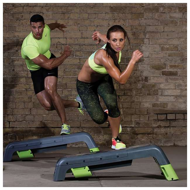 EST-DECK_Grau Escape Fitness Multi Purpose Deck for Step, Weight Training, Bootcamps, and More 8