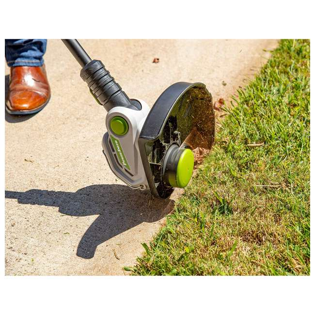 PBL140JH + PGT140 PowerSmith 120 MPH Leaf Blower + String Trimmer and Edger 10