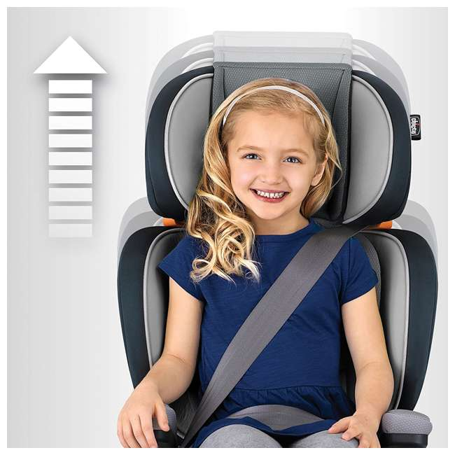 CHI-0607948500 Chicco KidFit 2-in-1 Belt Positioning Booster Car Seat, Spectrum (2 Pack) 4