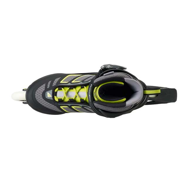 077340001A1-9 Rollerblade USA Macroblade 90 Men's Adult Fitness Inline Skates Size 9, Lime 4