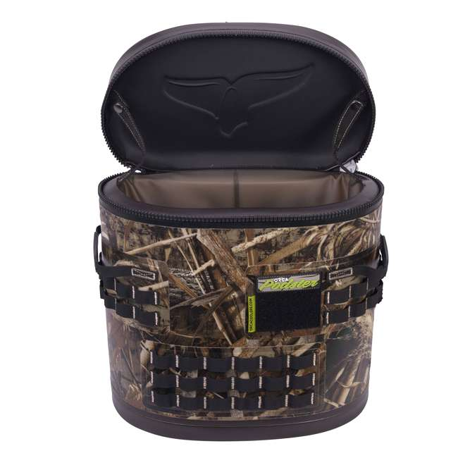 ORCPDSTRRTM5-U-B Orca Podster Realtree Max 14.25 Quart 12 Can Ice Cooler, Camo Green (Used)