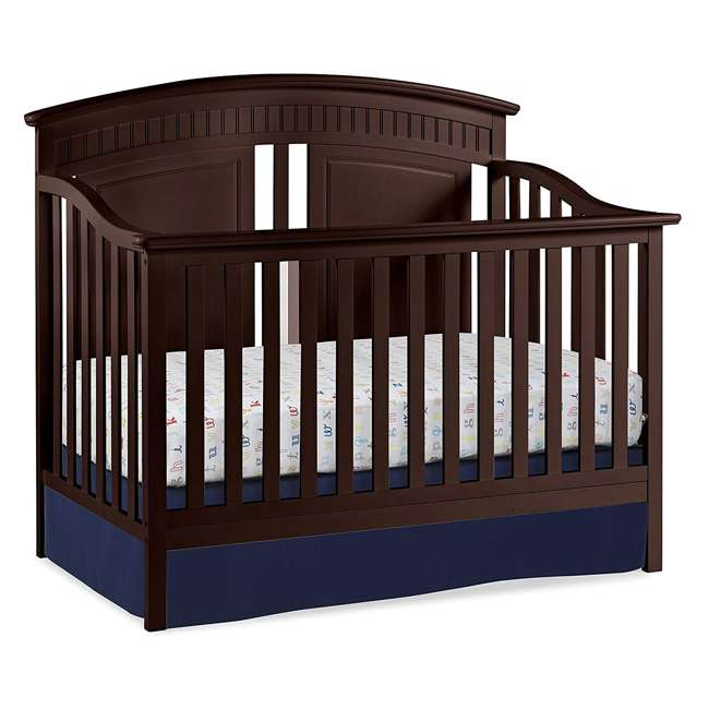 06711-300 + 04565-109 Graco Crib  Mattress & Thomasville Majestic Convertible Crib Bed 10