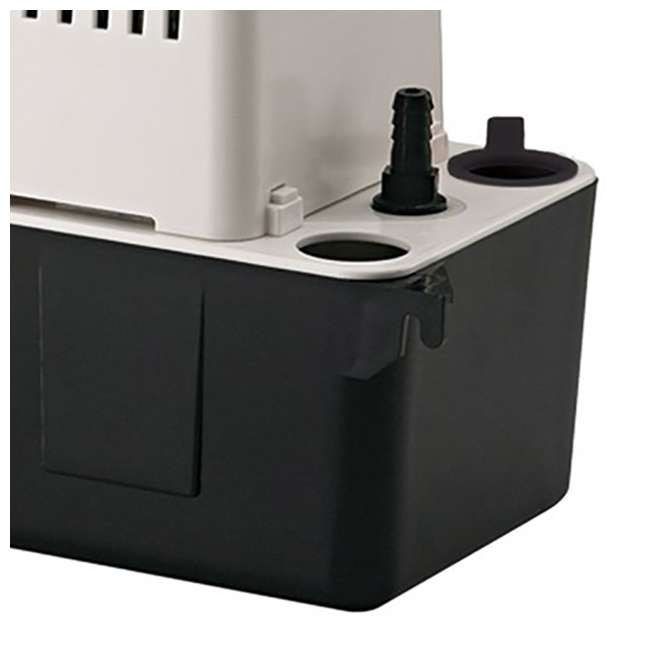 10 x LG-554425 Little Giant 1/30 HP 1/2 ABS Gallon Tank Condensate Removal Pump (10 Pack) 4