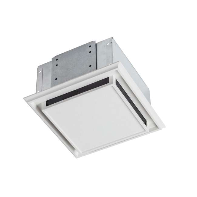 BR-682-U-B Broan Bathroom Ventilation Fan Charcoal Filter and White Plastic-Grille (Used)