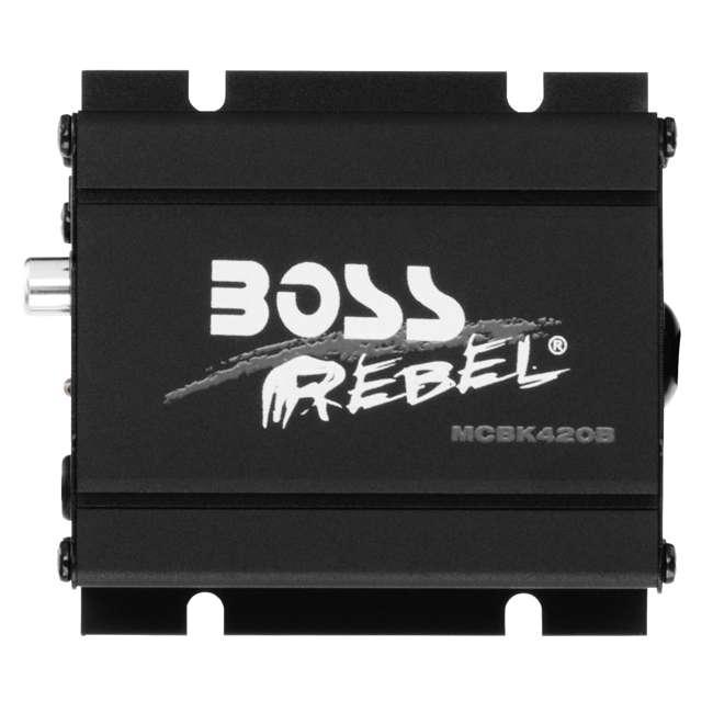 MCBK420B BOSS Audio 600 Watt Waterproof Motorcycle/ATV Bluetooth Speaker System, Black 1